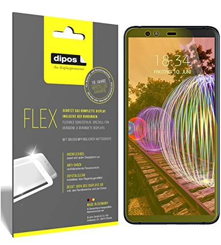 dipos I 3X Schutzfolie 100prozent passend für JVC J20 Folie (Vollständige Bildschirmabdeckung) Bildschirmschutzfolie