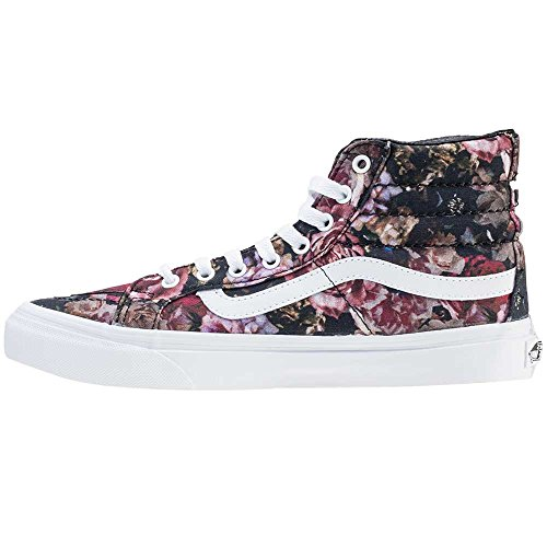 Vans Unisex-Erwachsene Sk8-Hi Slim Hohe Sneakers Black Floral