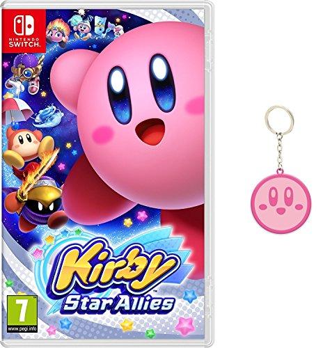 Kirby Star Allies + Llavero