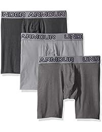 Under Armour Short en coton stretch Boxer Jock (Lot de 3)