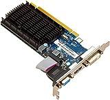 Sapphire 11166-68-20G Radeon HD 5450 2GB GDDR3 - Tarjeta gráfica (Radeon HD 5450, 2 GB, GDDR3, 1344 MHz, PCI Express 2.1)