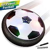Baztoy Air Power Fußball Hover Power Ball Indoor Fußball mit LED Beleuchtung, Perfekt zum Spielen in Innenräumen ohne Möbel oder Wände zu beschädigen