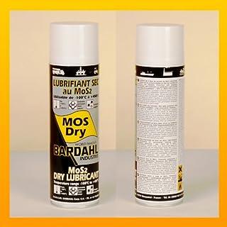 BARDAHL MOS DRY - Trockenschmierstoff mit MoS2 - 400 ml Spray