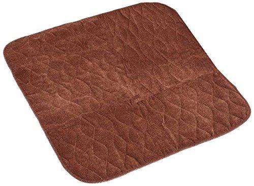 Gesteppte Stuhl-pads (NRS Healthcare Inkontinenz Schutz Gesteppt Stuhl, n94184, braun, 53x 58cm)
