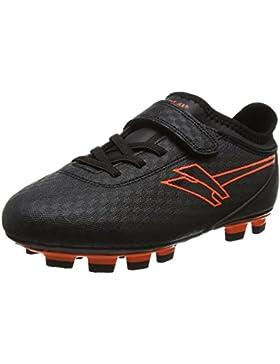 Gola Sparta Blade, Jungen Fußballschuhe, Schwarz (Black/orange), 32 EU