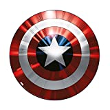 Marvel Captain America Schild-Glasschneidebrett, mehrfarbig -