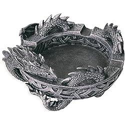 Cenicero gótico de dragón