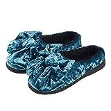 YMFIE Einfache winter home indoor Hausschuhe aus Baumwolle Fußbodenheizung Rutschfeste wasserdicht Hausschuhe Schuhe, 42/ 43, b