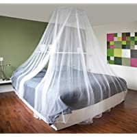 Grande protezione anti-insetti Mosquito Net-Zanzariera da letto a baldacchino con copertura 12 m, ideale per la casa o per le vacanze