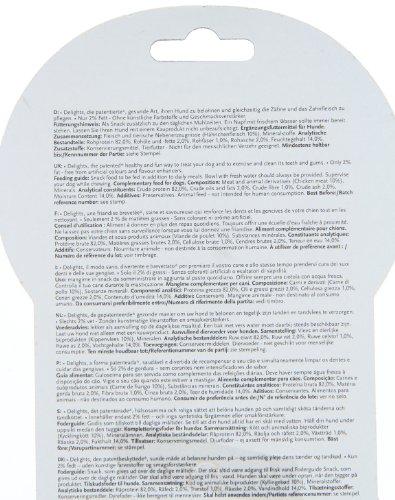 8in1 Delights Kauringe (gesunder Kausnack in Ringform für größere Hunde über 20 kg, hochwertiges Hähnchenfleisch), 3 Stück (119 g) - 6