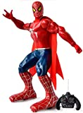 #1: Sunshine 12 Inches Spiderman Robot with remote Control, Full Function, Interactive Robot Toy