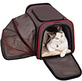 Best S-ZONE Bagages Sacs - Sac de Transport Extensible Souple pour Chats ou Review