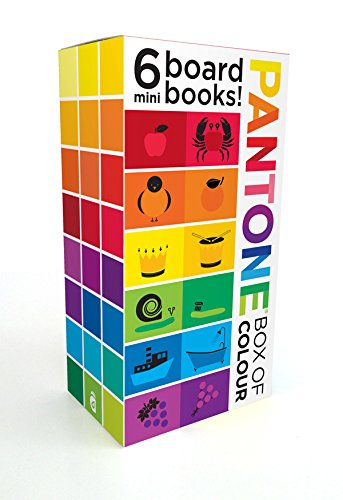Pantone Box of Colour:6 Mini Books: 6 Mini Board Books! por Pantone LLC