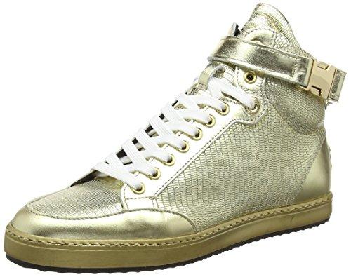 nobrand Damen Alfa Kurzschaft Stiefel Gold (Gold)