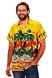 Funky Camicia Hawaiana, Parrot, giallo, XS