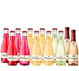 Rotkäppchen Fruchtsecco Himbeere 2 Fl, Holunderblüte 2 Fl, Mango 4 Fl, Granatapfel 2 Fl. und Rose Trocken 2 Fl. (12 x 0.2 l)