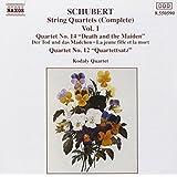Schubert: String Quartets (Complete), Vol. 1 - Quartets No 12 & 14