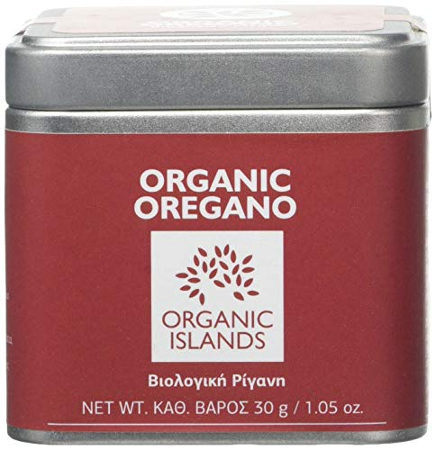Organic Islands Herbs Oregano Single Cube Tin, 30 g, Pack of 2