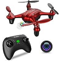 TEC.BEAN Sparrow GD90-C Mini drone para principiantes con cámara 720P HD, Quadcopter para niños con modo suspendido y sin cabeza, despegue con una sola tecla y retorno al inicio