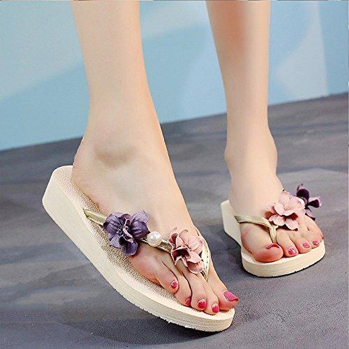 06d2e7013c010 Amazing saison d été 3cm sandales à talons hauts femme d été mode usure
