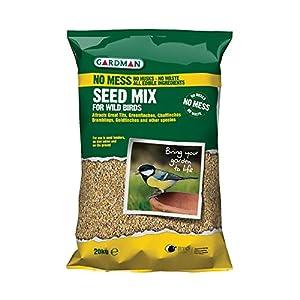 Wild Bird No Mess Seed Mix 20kg