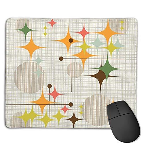 Eames Era Starbursts and Globes 1 (bkgrnd) Design Gifts Mouse Pad 18