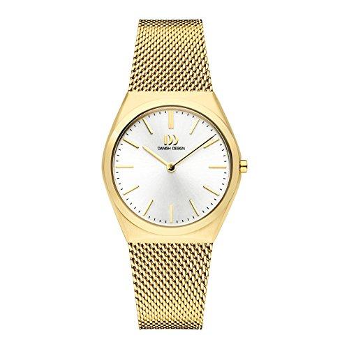 Danish Design Reloj Analógico para Mujer de Cuarzo con Correa en Acero Inoxidable IV05Q1236