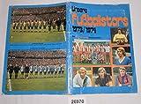 Bestell.Nr. 726970 Unsere Fußballstars 1973/1974 - Ein bergmann Sammelalbum