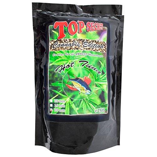 Top SecretCannabis-Edition Boilies 20mm Hot Tuna 1Kg