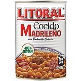 LITORAL Cocido Madrileu00f1o, Plato Preparado Sin Gluten - 400 gr