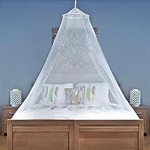 MOSKITONETZ für Reise und zu Hause | einfach zu transportieren und einzurichten für Einzel- bis Doppelbetten | Mückennetz mit hochwertigen, leichten Materialien und KOSTENLOSER Reisetasche & Hängeset