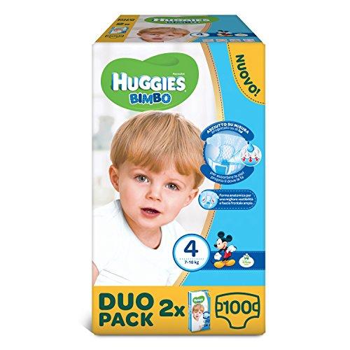 Huggies - Bimbo - Pañales - Talla 4 (7 - 14 kg)...