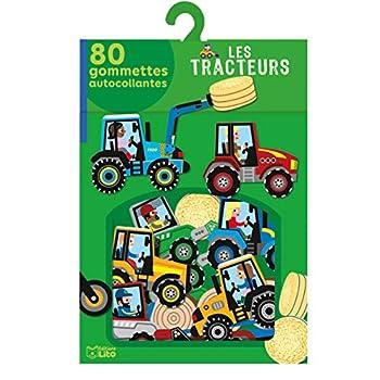 Mes gommettes Lito: Les tracteurs - De 3 à 5 ans