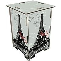 Unbekannt Photohocker Eiffelturm Paris grau preisvergleich bei kinderzimmerdekopreise.eu