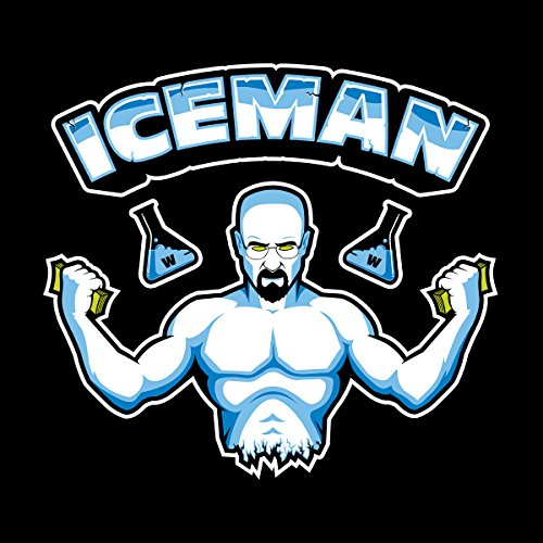 Super Cook Iceman Heisenberg Breaking Bad Women's T-Shirt Black