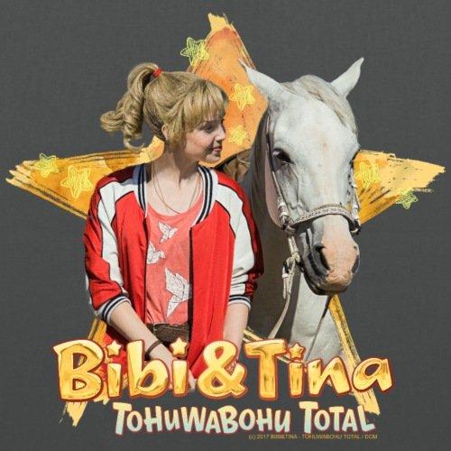 Spreadshirt Bibi E Tina Tohuwabohu Total Sabrina Borsa Di Stoffa Grafite