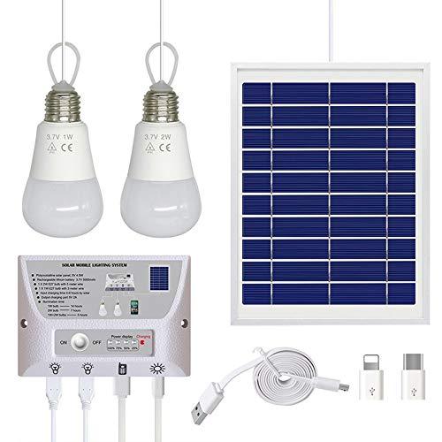 Cikuso Solar Au?En Beleuchtungs System, Solar Licht Photovoltaik Mobile Strom Versorgung Handy, das Tragbares Sonnen System Aufl?Dt