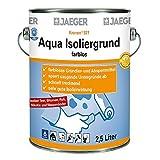 Jaeger Aqua-Isoliergrund, farblos, 750 ml Dose für Aqua-Dachschutzlacke