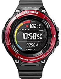 CASIO PRO TREK SMART WSD-F21HR-RDBGE Smartwatch Herren Red 2019 Pulsmessgerät