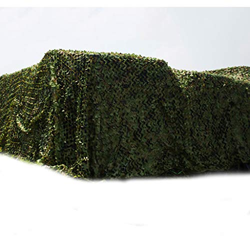 AKMQBZ Woodland Camouflage Net Camouflage Net Camping Camp Jagd Schießen Sonnenschutznetz - eine...