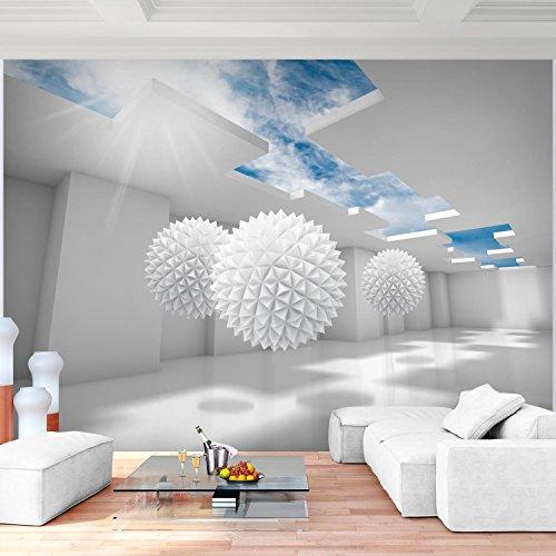 ... Fototapete 3D   Blau 352 X 250 Cm Vlies Wand Tapete Wohnzimmer  Schlafzimmer Büro Flur Dekoration ...