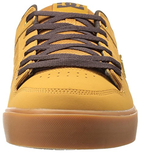 DC Shoes PURE SE SHOE D0301024, Baskets mode homme Wheat/Dk Chocolate