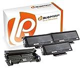 Bubprint 3 Toner & Trommel kompatibel für Brother TN-3280 TN3280 DR-3200 für DCP-8085DN HL-5340D HL-5350DN HL-5380DN MFC-8370DN MFC-8380DN MFC-8880DN