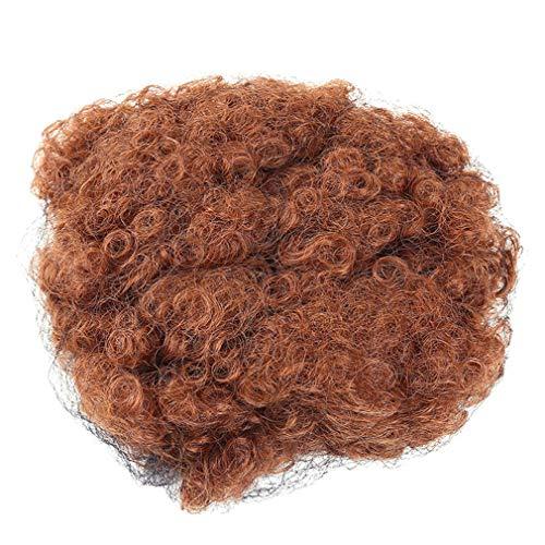 Yinew Curly Hair Pferdeschwanz African American kurze Haarteile Afro verworrene Curly Wrap Drawstring Puff Pferdeschwanz Haarverlängerung Perücke, 30#, 8cm