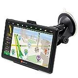 7' GPS para Coche 8GB DDR/800MHZ Actualización Gratis de Mapa de Europa Toda la Vida - Junsun