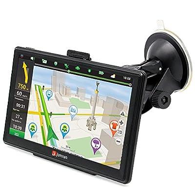 """7"""" GPS para Coche 8GB DDR/800MHZ Actualización Gratis de Mapa de Europa Toda la Vida - Junsun"""