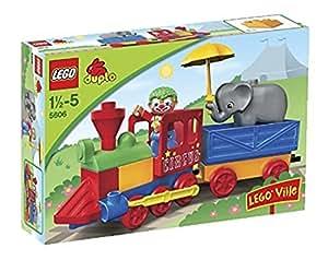 lego 5606 jeu de construction duplo legoville mon premier train jeux et jouets. Black Bedroom Furniture Sets. Home Design Ideas