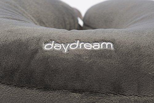 daydream: Reise-Nackenkissen mit Mikroperlen, grau (N-5003) - 5
