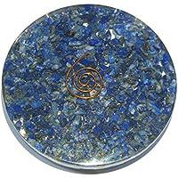Schöne 72 Gramm Lapislazuli Organit 81 mm Untersetzer Kristall Heilungs Reiki Feng Shui Geschenk Energie Wellness... preisvergleich bei billige-tabletten.eu