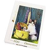 Clementoni - Puzzle de 500 piezas, High Quality, diseño El Gato (303458)